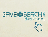 Save the beach desktop
