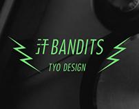 汗BANDITS Logo