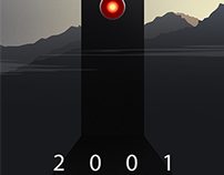 2001: A Space Odyssey Alternative Movie Poster