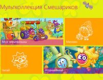 W8. Kikoriki cartoon market