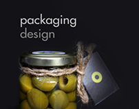 Olive packaging design