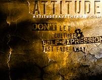 """""""Attitude"""" Save the Arts Campaign"""