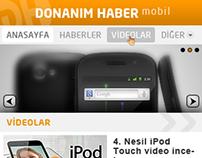 Donanım Haber - Mobil Site (2010-2011)