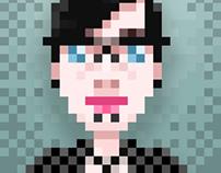 Sabrina (Pixel Portrait)