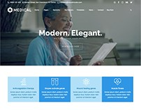 Medical WordPress Theme for Healthcare Websites