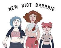 Riot Brrrbie: colaboración para Zorras Peligrosas