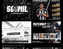 Identidade visual : Sou Botafogo 2019