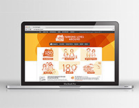 The 180 Project Web Design