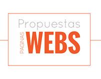 Propuestas de Webs.