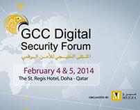GCC digital Security Forum infographic