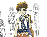 MUAY THAI IGLA Character Design