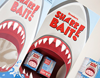 Shark Bait Cereal Identity and Branding