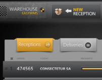 Warehouse WMS Concept