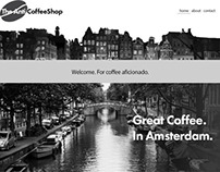 The AntiCoffeeShop Website