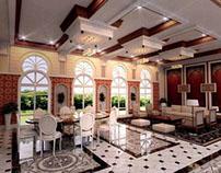 Reception Room Interior Design