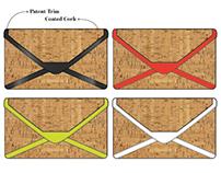 Handbag Design: Estell Cork Clutch