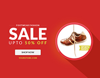 Retail Web Ad Marketing Banner