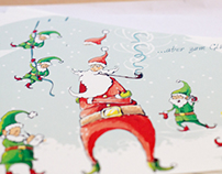 Christmas Cards for LianeSchebaum Eventmanagement