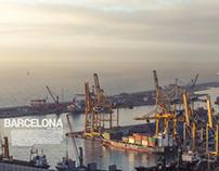 Barcelona Port.