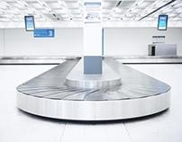 Seul dans un aéroport