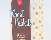 Wheat Biskits Packaging
