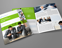 Company Brochure Bi-Fold Template Vol.19