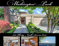 Flyer for Washington Park Home for Sale
