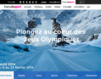 France TV JO Sochi 2014 Redesign / UI