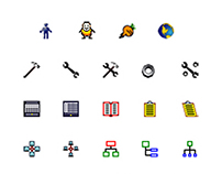 Berkeley Networks: Icons for Interface Software, 1998