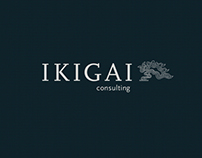 Brand Identity Design of IKIGAI Consulting