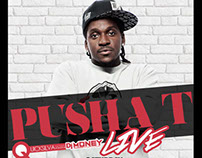 Pusha T Concert Art