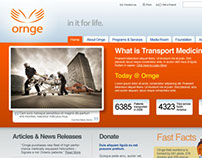 Ornge Homepage Redesign