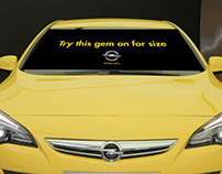 Opel Car Windscreen Banners