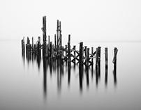 Foggy Morning on the Puget Sound, Tacoma, Washington