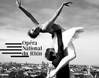 Opéra national du Rhin - Visual Identity