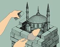 Le Monde Diplomatique / Illustrations / August 2016