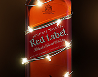 Johnnie walker Red Christmas.
