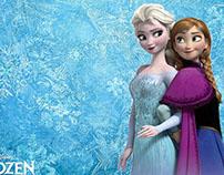 Frozen Bday invitation