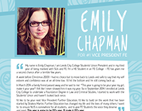 NUS Vice President for Further Education Campaign