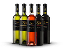 Wine Label Design and Branding for Tica winery