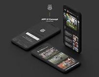 Ponte Preta App Concept - Ui Design