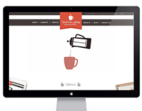 French Press Marketing, Homepage concept