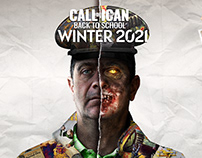 Call Of Duty / Pastiche - Photoshop / 2021