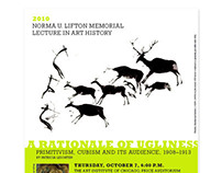 Norma U. Lifton Memorial Lecture in Art History Invite