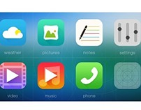 flat app icon #2