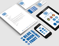 """The Blue Moon Fruit Company"" Corporate Identity"