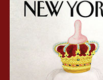 NEW YORKER MAGAZINE COVER - Royal Baby