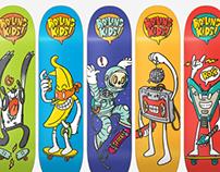 BOILING KIDS Skateboards
