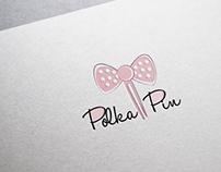 Logo design for Polka Pin