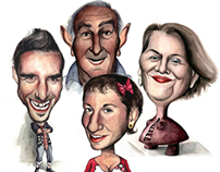 Caricatures - friends & family